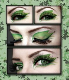 poison ivy make up photo shoot