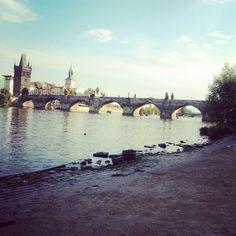 View of Charles Bridge, Prague 2012