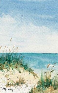 Watercolor by Tracee Murphy, via Flickr #watercolorarts