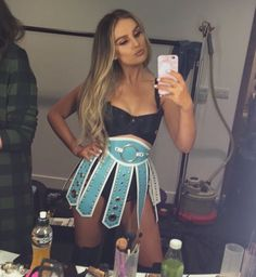 Perrie Edwards Jingle Bell Ball 2016