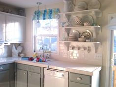Kitch Idea!  this is the same config as my kitchen.