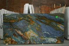 Van Gogh Blue Louise Slab Photo Apartment delivers online tools that help you to stay in control of your personal information and protect your online privacy. Blue Granite Countertops, Granite Colors, Granite Slab, Granite Kitchen, Kitchen Countertops, Epoxy Countertop, Backsplash, Stone Slab, Stone Tiles