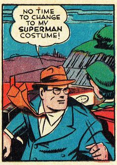 Superman No.13 (Dec. 1941), Art Leo Nowak, Words by Jerry Siegel
