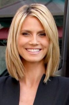 Image result for medium hair cuts for thick hair