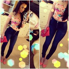 carli bybel outfit-I love her outfits! I just wish I knew WHERE she got this particular outfit from