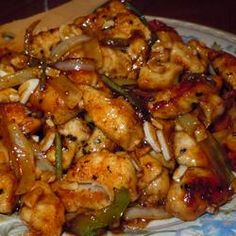 Amber's Sesame Chicken