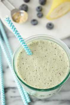 Blueberry Kale Collagen Shake {AIP, GAPS, SCD, Paleo} – Healing Family Eats
