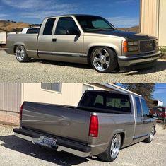Chevy Trucks Lowered, Bagged Trucks, Custom Chevy Trucks, Chevy Pickup Trucks, Classic Chevy Trucks, Gm Trucks, Chevy Pickups, Chevrolet Trucks, 1998 Chevy Silverado