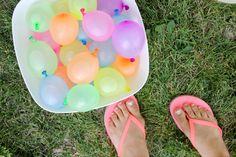Six Simple Summer Fun Ideas - love the Hot Rocks and the Water Balloon Pinata