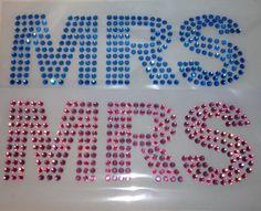 MRS huge SS30  Crystals Bling transfers 12x4 by BlingIsTheNewBlack, $19.99