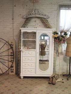 love!!! Painted Cottage Chic Shabby White French by paintedcottages, $1295.00
