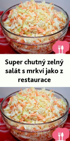 Super schmackhafter Wei kohl-M hren-Salat wie aus dem Restaurant Easy Taco Salad Recipe, Taco Salad Recipes, Avocado Salad Recipes, Crockpot Recipes, Vegan Recipes, Layered Taco Salads, Kenwood Cooking, Healthy Tacos, Healthy Food
