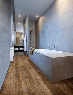 Maritime Pine 24854 - Wood Effect Luxury Vinyl Flooring - Moduleo Bathroom Vinyl, Bathroom Tile Designs, Bathroom Floor Tiles, Bathroom Wallpaper, Tile Floor, Tiled Bathrooms, Wall Tiles, Wood Floor, Downstairs Bathroom