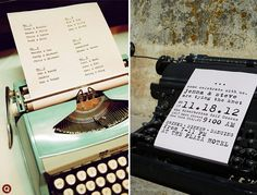 more rad typewriters! can't wait till we find ours... the thrift store/craigslist hunt begins!