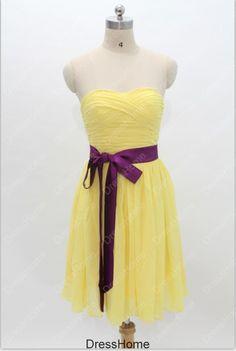 Bridesmaid Dress  Short Bridesmaid Dress