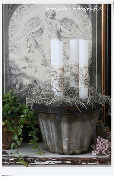 advent candle~bonjade