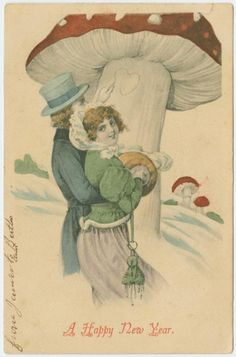 A happy New Year. From New York Public Library Digital Collections.