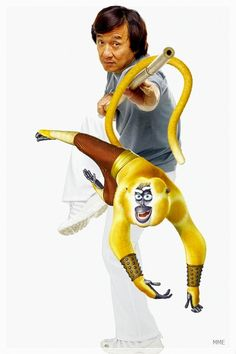Jackie Chan - Monkey from Kung Fu Panda