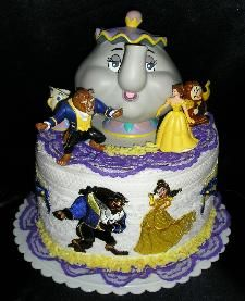 Disney Beauty and the Beast cake. For you Effie. Luv U.