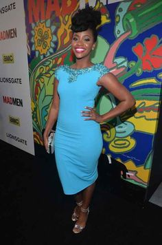 But in addition to being an incredibly talented rising star, you need to know that Teyonah Parris ABSOLUTELY SLAYS every single red carpet she is on.   Teyonah Parris Has The Flyest Hair On The Red Carpet