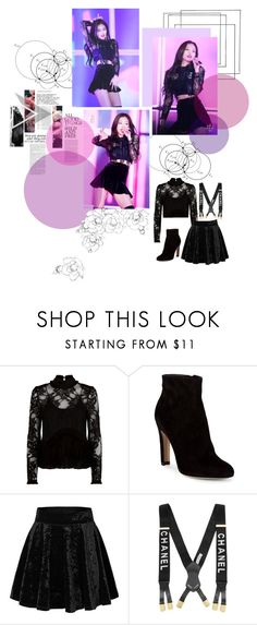 """""""Jennie _ So Hot"""" by jina-7 on Polyvore featuring Alexis and Gianvito Rossi"""