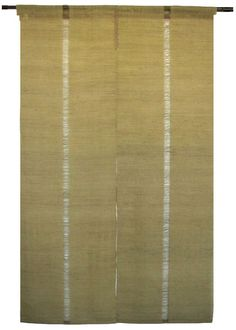 Image detail for -Japanese Noren Curtain - Linen - Iono Textile - Deep Green