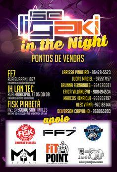 Verso do Flyer para o evento Seligaki In the night #seligaki #seligakiinthenight #evento #photoshop