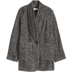 H&M Wool-blend Coat $19.99 (89 MYR) ❤ liked on Polyvore featuring outerwear, coats and jackets