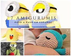 7 Tutoriales para hacer Peluches de Crochet