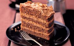 Mary Berry's cappuccino coffee cake + coffee icing