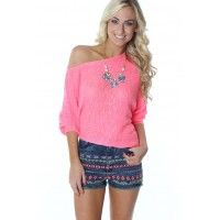 The Summer Sweater Pinkavailable at www.SophieandTrey.com shop online with code 'STMEGAN10' & get 10% off your purchase of $50 or more!! Follow @Sophie & Trey & @megannnclary on Instagram!