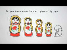This animated video shows the effects of cyber bullying. Will display how to identify what cyber bullying, and how to stop cyber bulling! Bullying Videos, Stop Bullying, Anti Bullying, Cyber Bullying, Social Media Etiquette, Cyber Safety, Digital Footprint, Image Hd, Internet Safety
