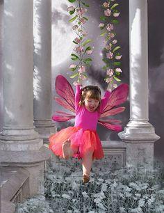 Fairy Fun black-white-with-a-splash-of-color