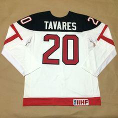 Canada Olympic 100th Anniversary Jersey 20 John Tavares White