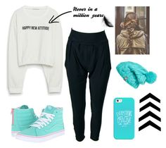 """""""Untitled #7"""" by karmahegazy ❤ liked on Polyvore featuring Zara, Vans, Casetify and The North Face"""