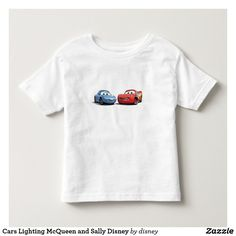 Cars Lighting McQueen and Sally Disney