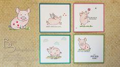 Glücksschweinchen von Stampin' Up!