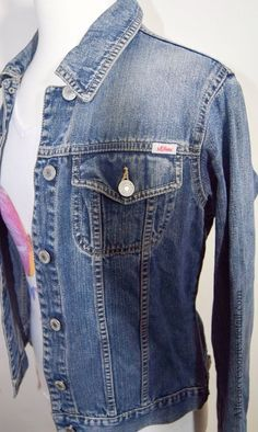 Denim Jacket via Alter. Click on the image to see more!