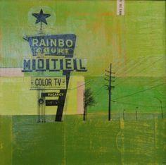 Rainbo Court Motel by Robert Mars