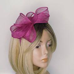 Flower Bridal Head Piece Cocktail Hat Races Hat OOAK Pastel Pink Veil Fascinator Wedding Hair Flower Crown