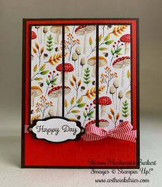 Painted Season DSP Quick & Easy card