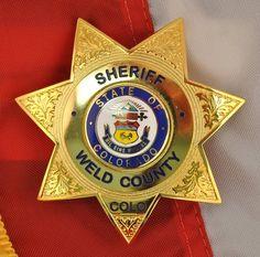 Weld county Sheriff CO 1
