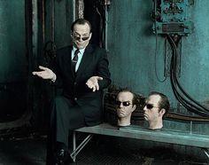 Hugo Weaving as Agent Smith (The Matrix Trilogy)