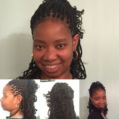 Twists with added hair