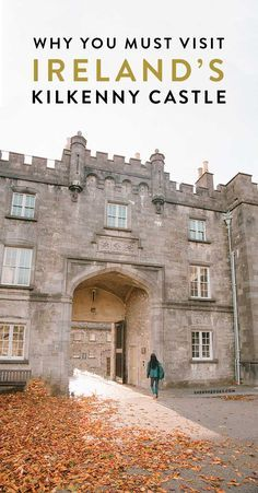 Visiting Kilkenny Ireland, known for the Medieval Mile and Marble City. Make sure to visit Kilkenny Castle, one of the best castles in Ireland that you can tour! #ireland #castles #irelandtravel ireland itinerary, photos of ireland, irish castles, irish cities