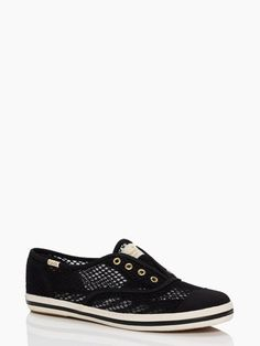 Adorable Keds that breathe by Kate Spade... cute summer casual shoe.