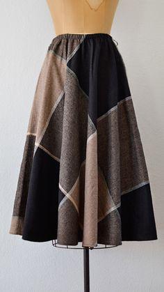 vintage plaid skirt | Gramercy Plot Skirt | Adored Vintage