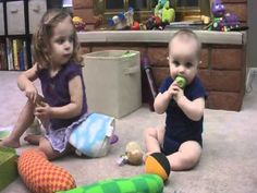 Typical 2 year old play development - YouTube