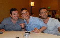 Orphan Black at SDCC 2014: Kristian Bruun, Ari Millen, & Dylan Bruce