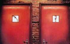 Los carteles de baño mas curiosos. – Marcianos